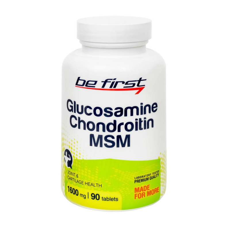 Be First Glucosamine+Chondroitin+MSM  90таб